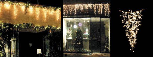 【LED】【イルミネーション】LED アイスライト【150球】【ゴールド】【つらら】【ツララ】【氷結】【冬国】【ライト】【氷】【壁掛け】【アート】【輝き】【電飾】【クリスマス】【クリスタル】【かわいい】美しい氷のライト 垂らせば美しさにうっとりしちゃいます