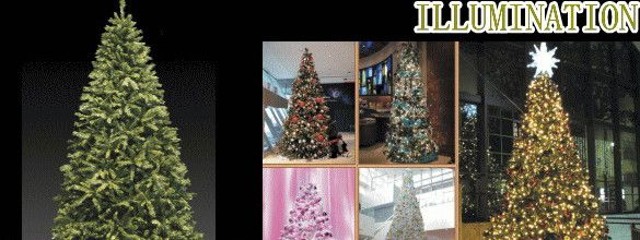 【2012新作クリスマスグッズ】クリスマスツリー【10M】☆イルミネーションと組み合わせると素晴らしい演出ができます♪【送料無料】【クリスマス】【イルミネーション】【電飾】【モチーフ】【大人気】