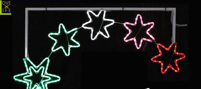 【50 】【LEDライト】【大人気】LED スターアーチ【星】【スター】星の大きいアーチイルミネーション♪存在感がすごい♪おうちに飾れば流星群です♪【2012年新作】【送料無料】【大人気】【イルミネーション】【LED】【大人気】
