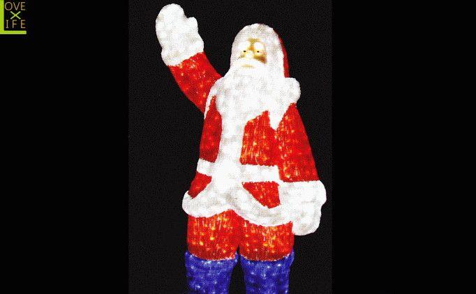 【LEDモチーフ】【20 】LED クリスタル サンタクロース【A】【サンタ】【3D】ハイクオリティーシリーズのサンタ♪全身にコーティング加工!輝きは最高です♪【2012年新作】【送料無料】【大人気】【イルミネーション】【クリスマス】【LED】【大人気】