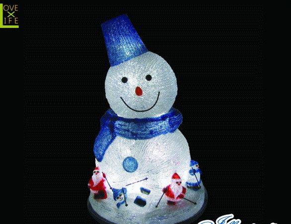 【20 】スノーマン 首振り【雪だるま】【雪】【動き】【スノーマン】顔を左右に振ってお客様をお出迎え♪【2013年新作】【送料無料】【大人気】【イルミネーション】【クリスマス】【LED】【大人気】【大人気】