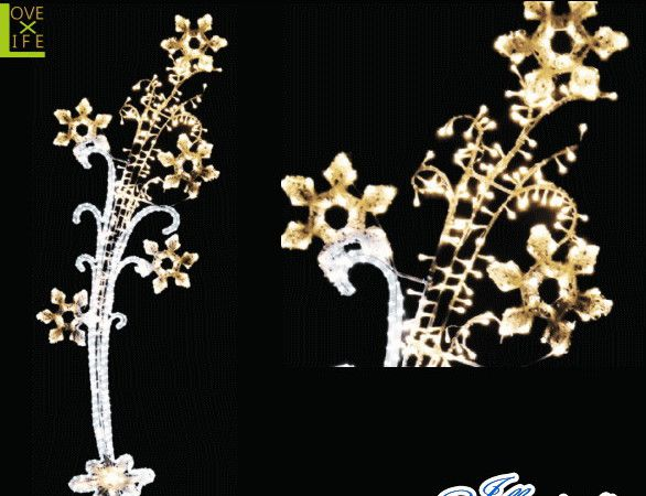 【LED】【イルミネーション】【大型商品】LEDクリスタル スターコメット【花束】【フラワー】【花】【アレンジ】【ケープ】【ウッド】【アート】【輝き】【電飾】【モチーフ】【クリスマス】【クリスタル】花束をイルミネーションにしました かわいさ満点