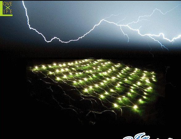 【20 】LEDライジング ネットライト【328球】【ライト】【雷】【落雷】【稲妻】空を轟かせる大迫力のライトが新登場♪【2013年新作】【送料無料】【大人気】【イルミネーション】【クリスマス】【LED】【大人気】【大人気】