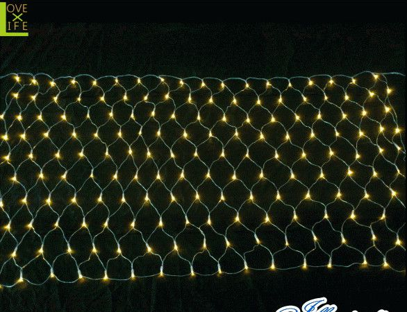 【LED】【ネット】LED ネットライト【180球】【連結用】【クリアコード】【面】【LED】【ネット】【均等】万能のネットライト 均等にLEDを分散 AOIデパートのLEDイルミネーション【大人気】【イルミネーション】【クリスマス】【電飾】【省エネ】【大人気】