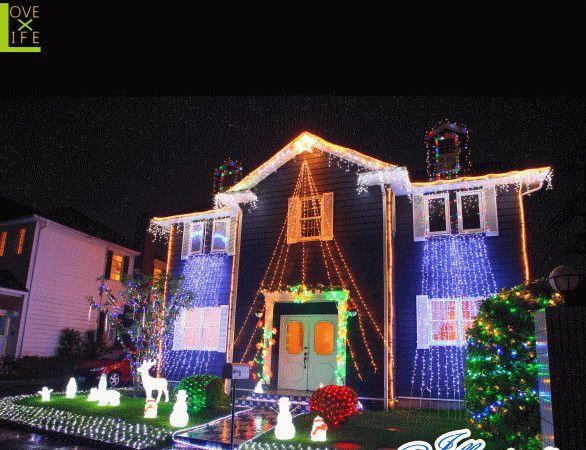 【20 】LEDカーテンライト【144球】【LED】【ナイアガラ】【川】ライトで覆い尽くせば美しく仕上がります♪【送料無料】【クリスマス】【イルミネーション】【電飾】【モチーフ】