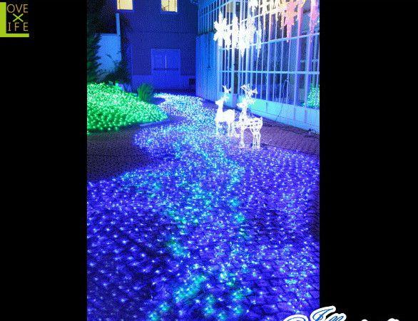 【LED】【ネット】LED ミルキーウェイ ネットライト【連結用】【LED】【ダブルチップ】【面】【ネット】【均等】2重チップでLEDが消灯しません AOIデパートのLEDイルミネーション【イルミネーション】【クリスマス】【電飾】【大人気】【大人気】【装飾】