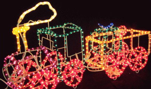 2連トレイン【60 】【送料無料】【クリスマス】【イルミネーション】【電飾】【モチーフ】【大人気】