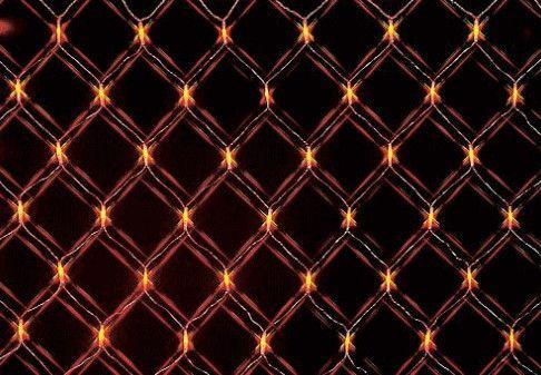 オレンジ・グリーンLED264球 ネットライト【LED】【20 】【送料無料】【クリスマス】【イルミネーション】【電飾】【モチーフ】【大人気】