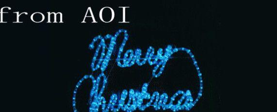 LEDメリークリスマス・青【60 】【送料無料】【クリスマス】【イルミネーション】【LED】【電飾】【モチーフ】【大人気】