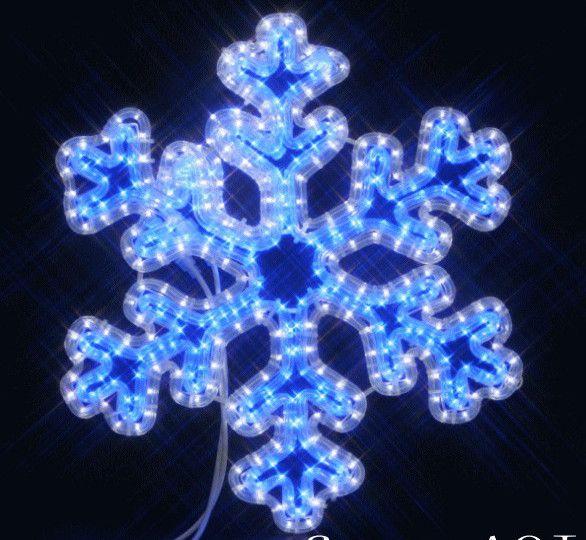 LEDダブルカラースノーフレーク【20 】【送料無料】【クリスマス】【イルミネーション】【LED】【電飾】【モチーフ】【大人気】