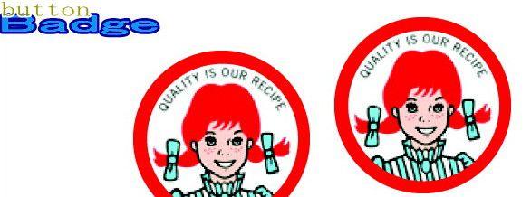 ウェンディーズ Wendy's カン バッジ15 ロゴ1 人気の缶バッジを大量投入 服やバック なつかしいキャラクターや海外のメーカー 新生活 缶 バッジ バッチ お気に入りを見つけてください 爆売り カバンなどをリメイクしちゃいましょう