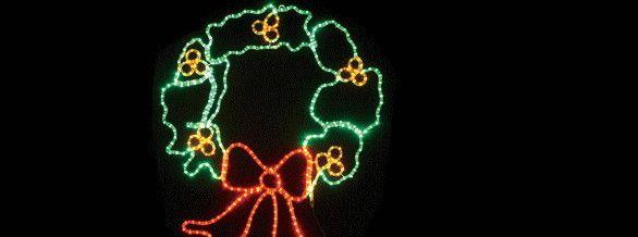 【新商品】LEDイルミネーション LEDモチーフ リース(大)♪ドキドキ!ワクワク!かわいいモチーフたちが玄関先でお出迎え! ♪【大人気】【クリスマス】【LED】【イルミネーション】【電飾】【送料無料】【2010イルミ_debut】【2010イルミ_led】【2010イルミ_eco】