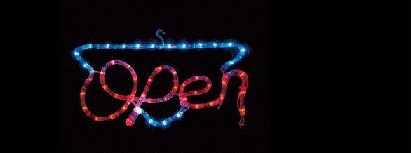 【新商品】LEDイルミネーション LEDモチーフ OPEN♪クリスタルな輝きが新鮮!ロマンチックで抜群の存在感♪【大人気】【クリスマス】【LED】【イルミネーション】【電飾】【送料無料】【2010イルミ_debut】【2010イルミ_led】【2010イルミ_eco】