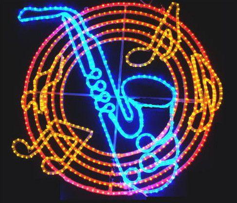 サックス LED イルミネーション【20 】【送料無料】【クリスマス】【イルミネーション】【電飾】【モチーフ】【大人気】