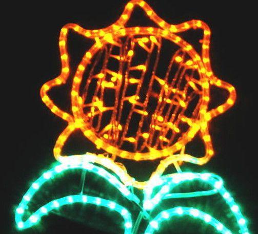ヒマワリ LEDイルミネーション【20 】【送料無料】【クリスマス】【イルミネーション】【電飾】【モチーフ】【大人気】