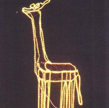 イルミネーション キリン【20 】【送料無料】【クリスマス】【イルミネーション】【電飾】【モチーフ】【大人気】