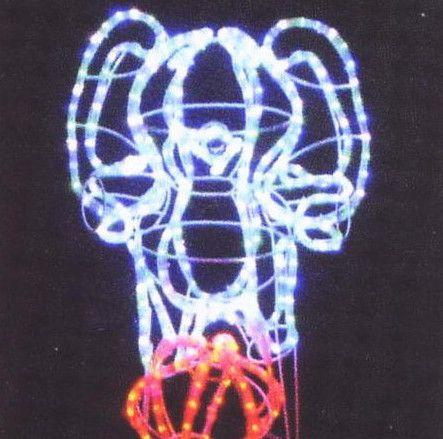 玉乗りゾウ LEDイルミネーション【20 】【送料無料】【クリスマス】【イルミネーション】【電飾】【モチーフ】【大人気】