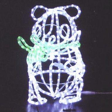 パンダ LEDイルミネーション【20 】【送料無料】【クリスマス】【イルミネーション】【電飾】【モチーフ】【大人気】