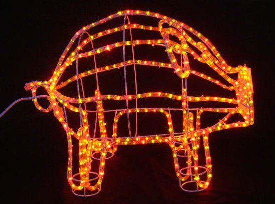 ブタ LED イルミネーション【20 】【送料無料】【クリスマス】【イルミネーション】【電飾】【モチーフ】【大人気】