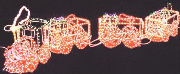 汽車4連 イルミネーション【60 】【送料無料】【クリスマス】【イルミネーション】【電飾】【モチーフ】【大人気】