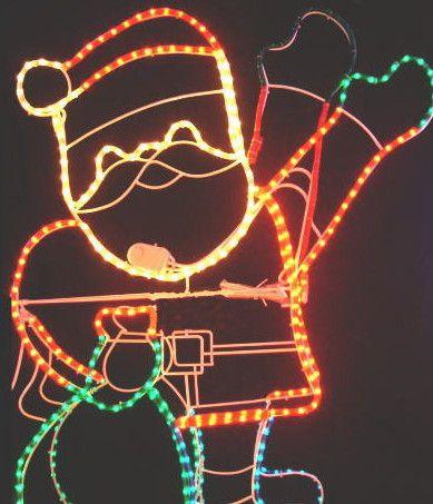 手振りサンタ クリスマス イルミネーション【20 】【送料無料】【クリスマス】【イルミネーション】【電飾】【モチーフ】【大人気】