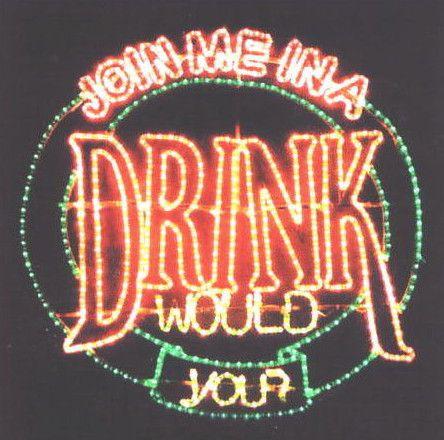 DRINK イルミネーション【20 】【送料無料】【クリスマス】【イルミネーション】【電飾】【モチーフ】【大人気】
