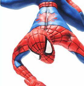 SPIDERMAN スパイダーマン バランス レジンオブジェ どっしりとした重量感で作りもGOOD!カッコイイです!