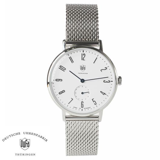 【送料無料】国内正規品 DUFA デュッファ 9001-12 腕時計 メンズ 男性用腕時計 ドイツ時計 オートマチック ステンレススチール ギフト 贈り物 プレゼント シンプル おしゃれ WATCH watch