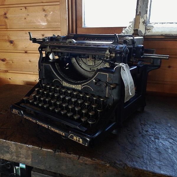 アンティーク タイプライター アメリカ製 Underwood Standard Typewriter No.5