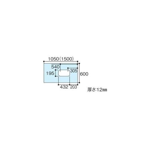 AGF413 TOTO [送料無料] ハイドロセラ・フロアJ セラミックパネル リモデル大便器対応部材