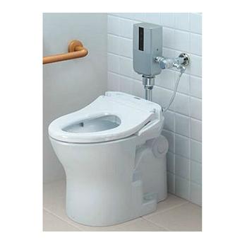 CFS494CERA TOTO [送料無料] TOTO パブリックコンパクト便器 フラッシュバルブ式【セット品番CFS494CERA】自動バルブユニット 露出タイプ再生水壁給水 ホワイト