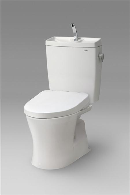 TOTO トイレ ピュアレスト QR CS230BM-SH231BA-TCF4711 組み合わせ 便座 便器 セット 手洗いあり 温水洗浄便座 ウォシュレット アプリコット 暖房便座 トイレリフォーム 洋式 便器[一般地][床:排水心200mm][手洗いあり]