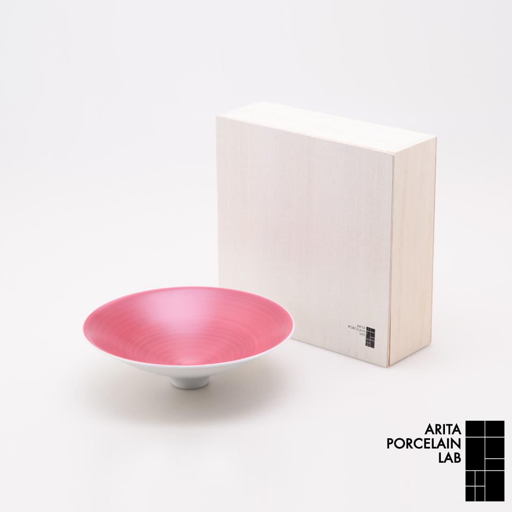 和食器 盛鉢 JAPAN AUTUMN 盛鉢 ワインレッド 木箱 和モダン ブランド 食器 食器ギフト アリタポーセリンラボ