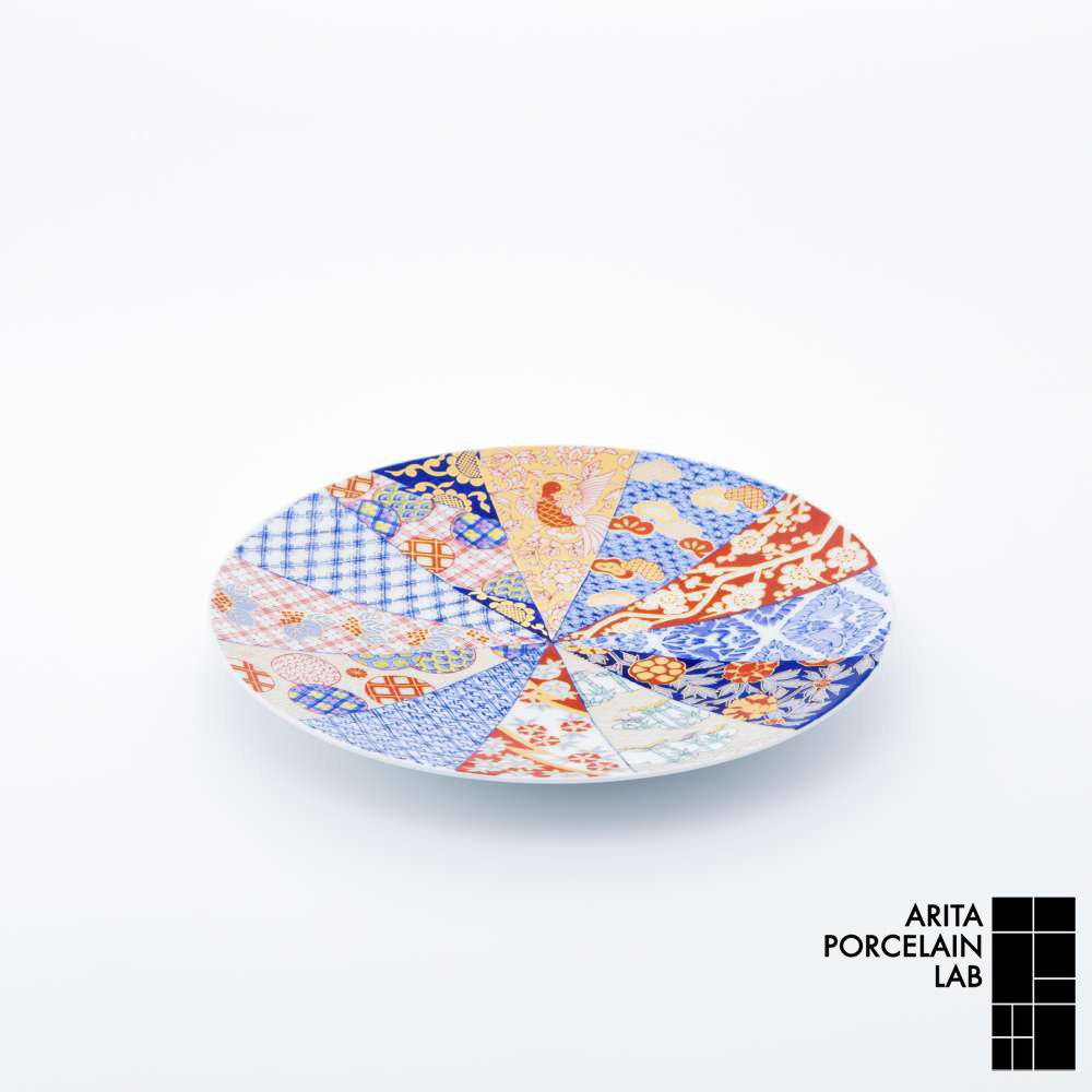 和食器 大皿 GOLD IMARI フラットプレート(M) 旭日吉祥紋 和モダン ブランド 食器 食器ギフト ショープレート アリタポーセリンラボ
