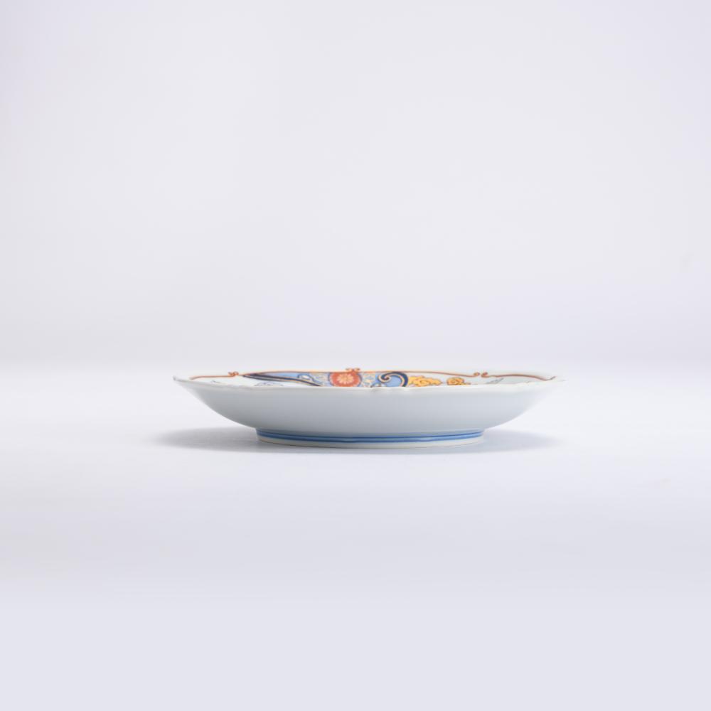 銘々皿 5枚セット 波鶴