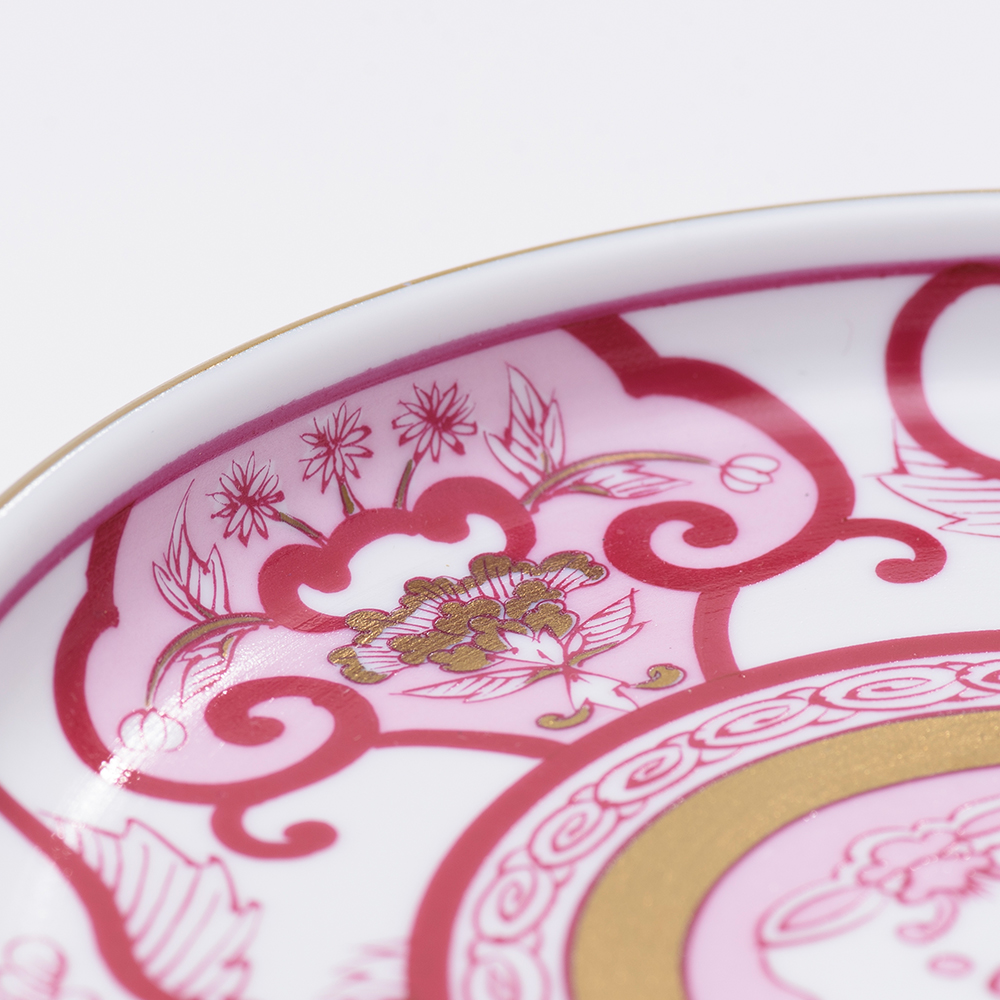 和食器 小皿 AUTUMN 銘々皿 古伊万里草花紋 ゴールド 和モダン ブランド 食器 食器ギフト