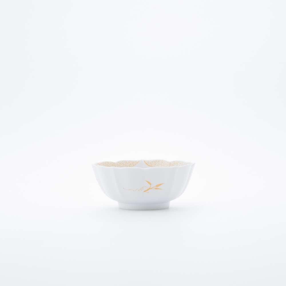 和食器 小鉢 JAPAN AUTUMN 小鉢 三方ガラミ紋 ゴールド  和モダン ブランド 食器 食器ギフト サラダボウル