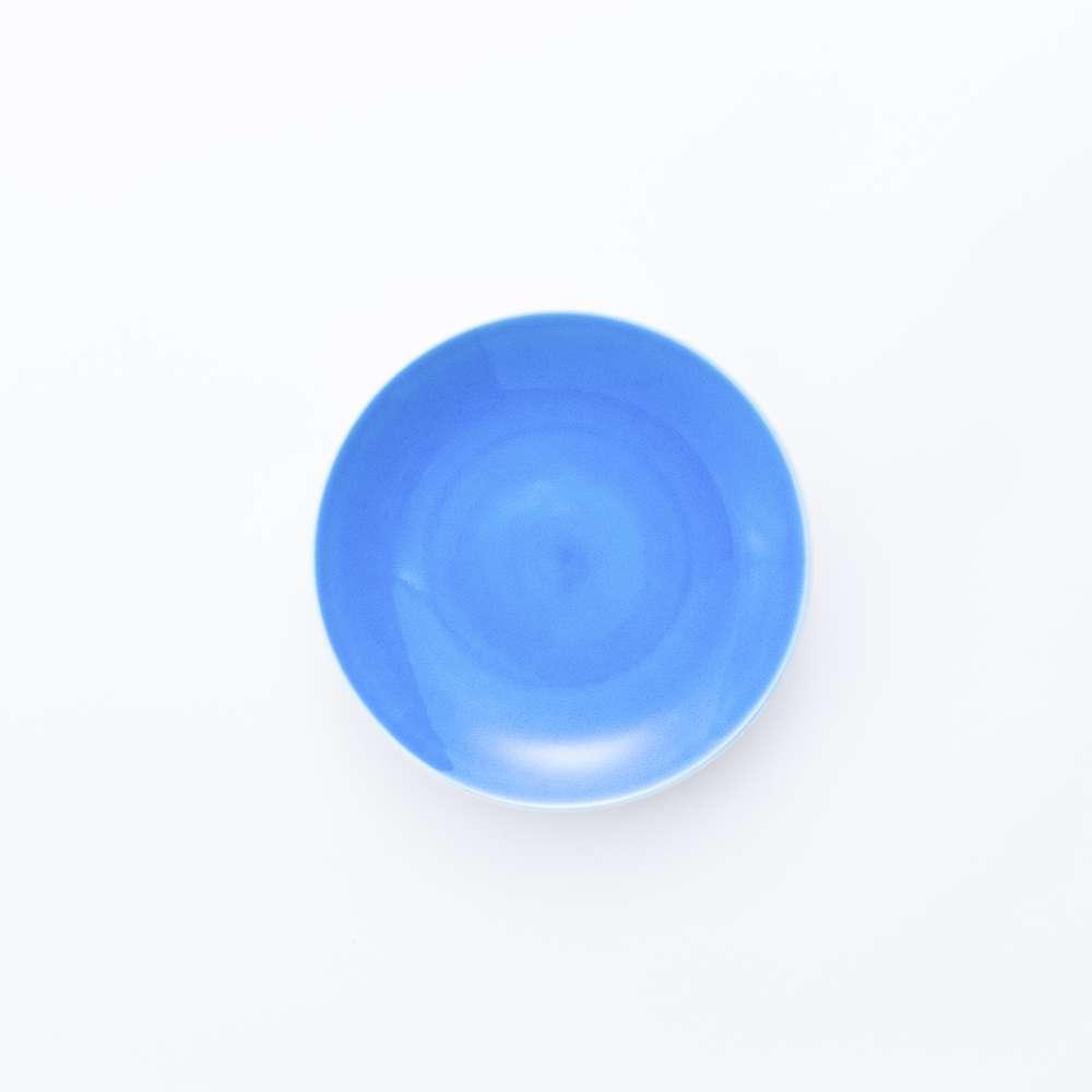 和食器 中皿 JAPAN BLUE 平皿 (小) クリアブルー 和モダン ブランド 食器 食器ギフト デザートプレート