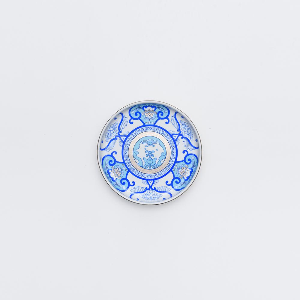 和食器 小皿 JAPAN BLUE 銘々皿 古伊万里草花紋 ブルー 和モダン ブランド 食器 食器ギフト