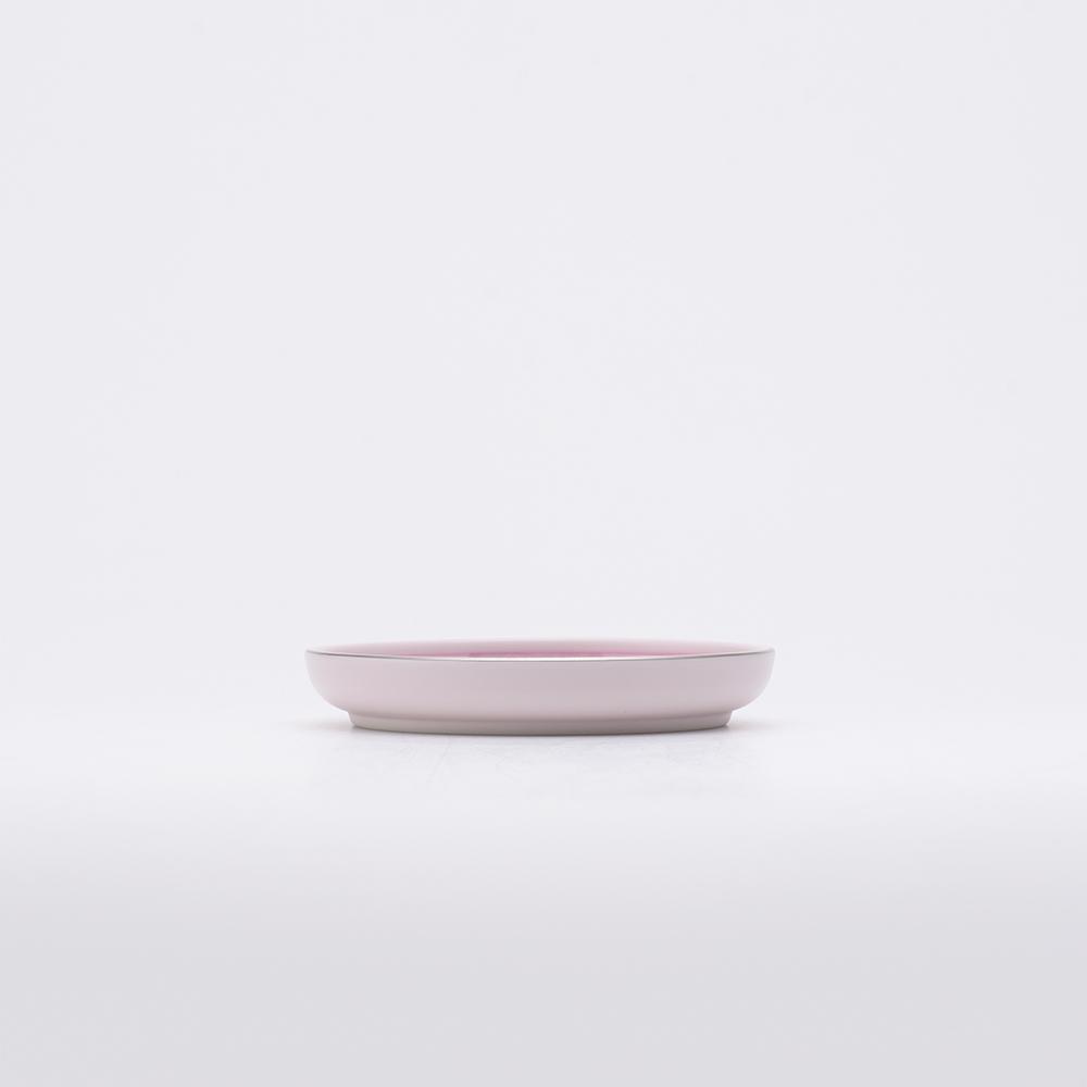 和食器 小皿 JAPAN CHERRY 銘々皿 古伊万里草花紋 ピンク プラチナ 和モダン ブランド 食器 食器ギフト