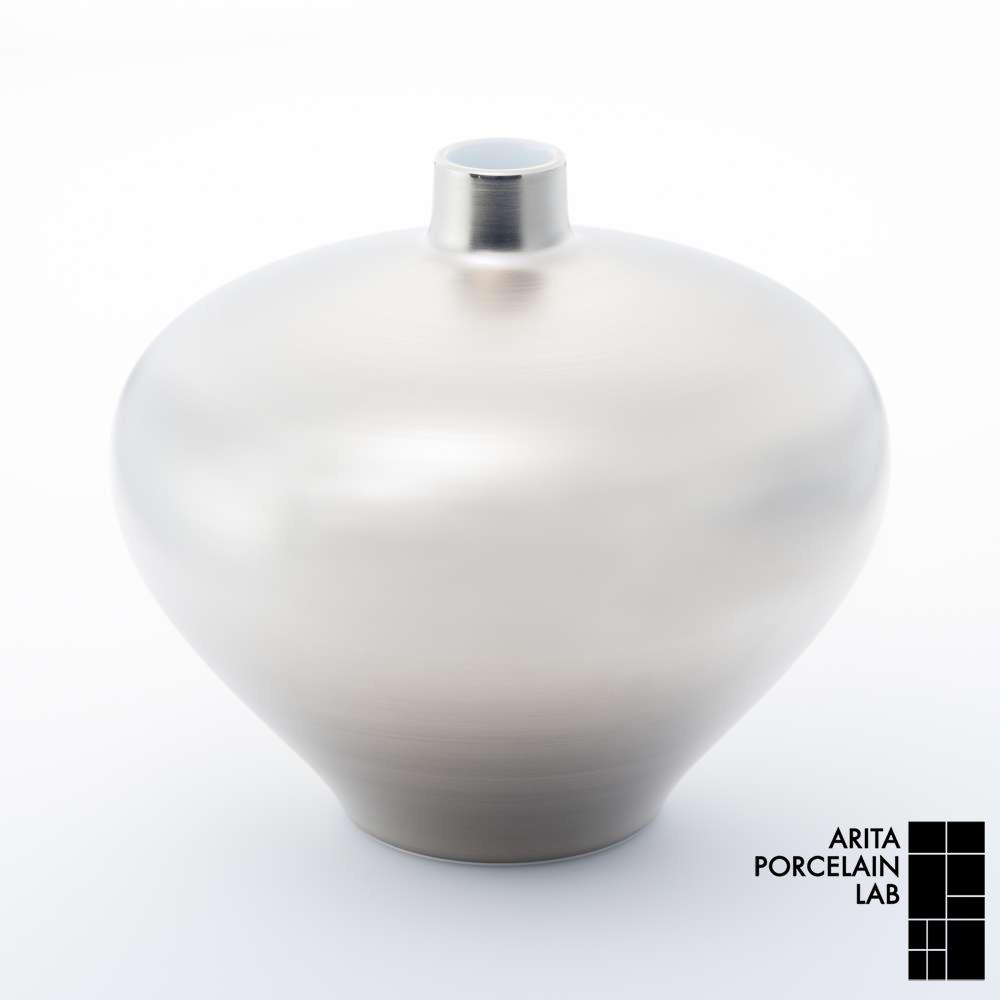 和食器 花瓶 花器 JAPAN SNOW アバクス花瓶 プラチナ和モダン ブランド 食器 食器ギフト フラワーベース