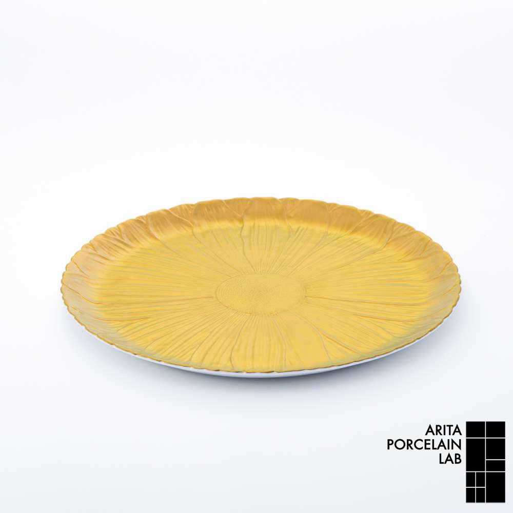 和食器 大皿 ONLY GARDEN マーガレット(大) ゴールド 和モダン ブランド 食器 食器ギフト ショープレート