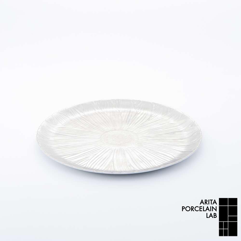 和食器 大皿 ONLY GARDEN マーガレット(中) プラチナ 和モダン ブランド 食器 食器ギフト ショープレート