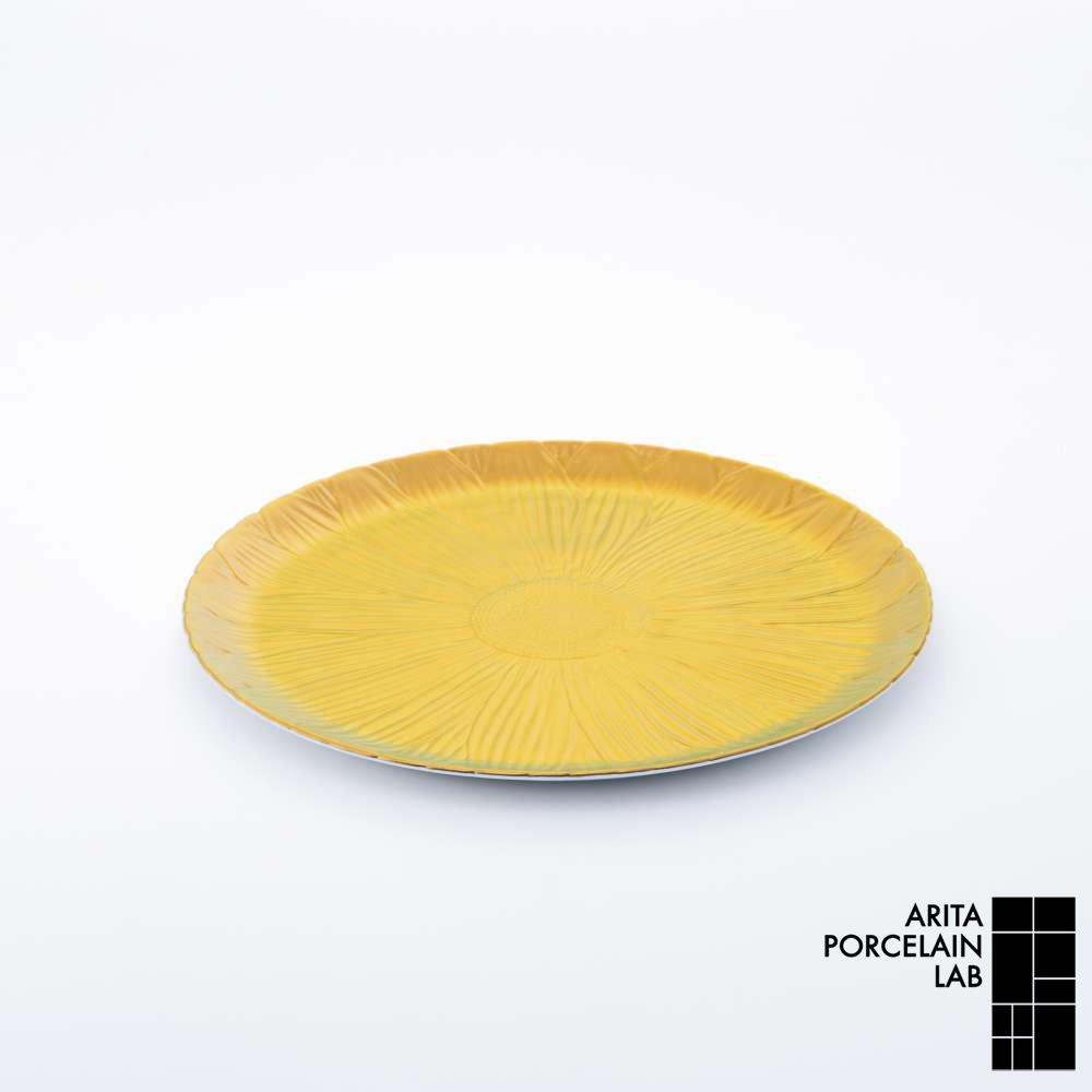 和食器 大皿 ONLY GARDEN マーガレット(中) ゴールド 和モダン ブランド 食器 食器ギフト ショープレート アリタポーセリンラボ