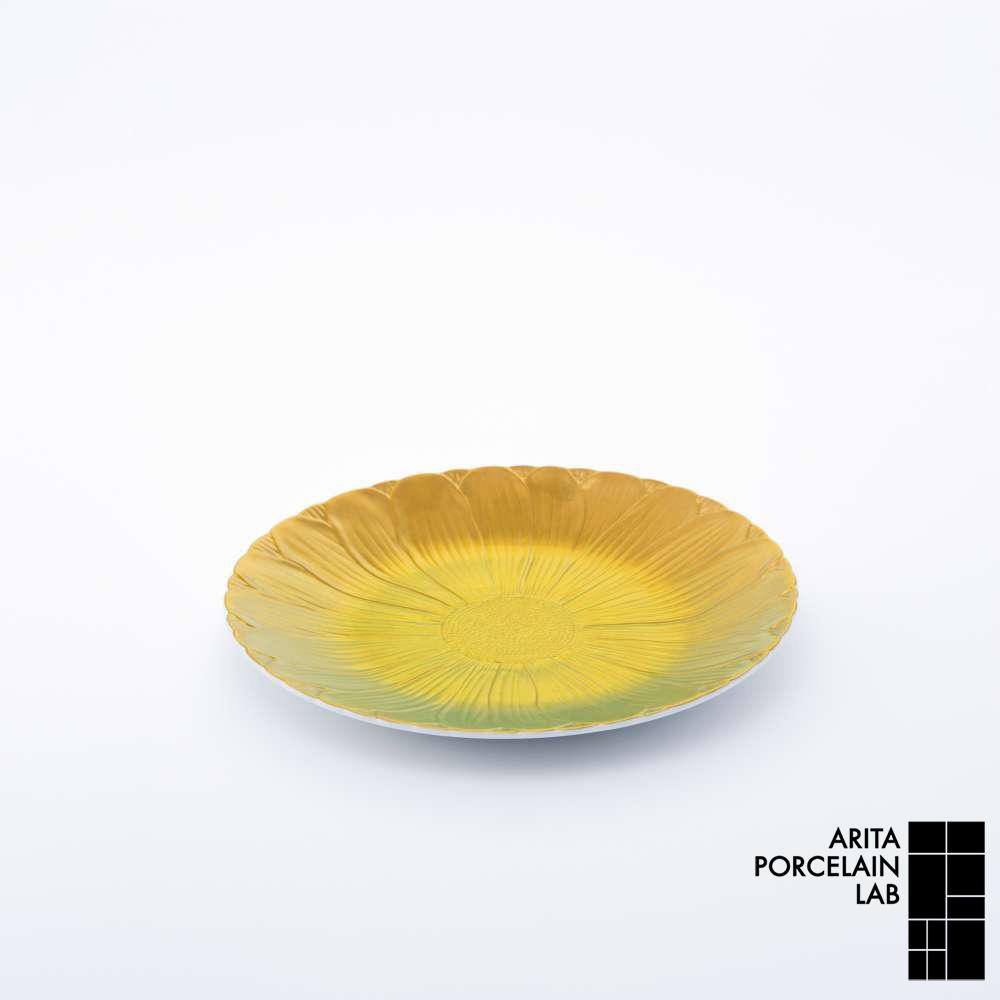 和食器 中皿 ONLY GARDEN ブランド マーガレット(小) ゴールド 食器 和モダン ブランド 食器 ゴールド 食器ギフト デザートプレート お中元 アリタポーセリンラボ, 農家の米:8f0cc60b --- officewill.xsrv.jp