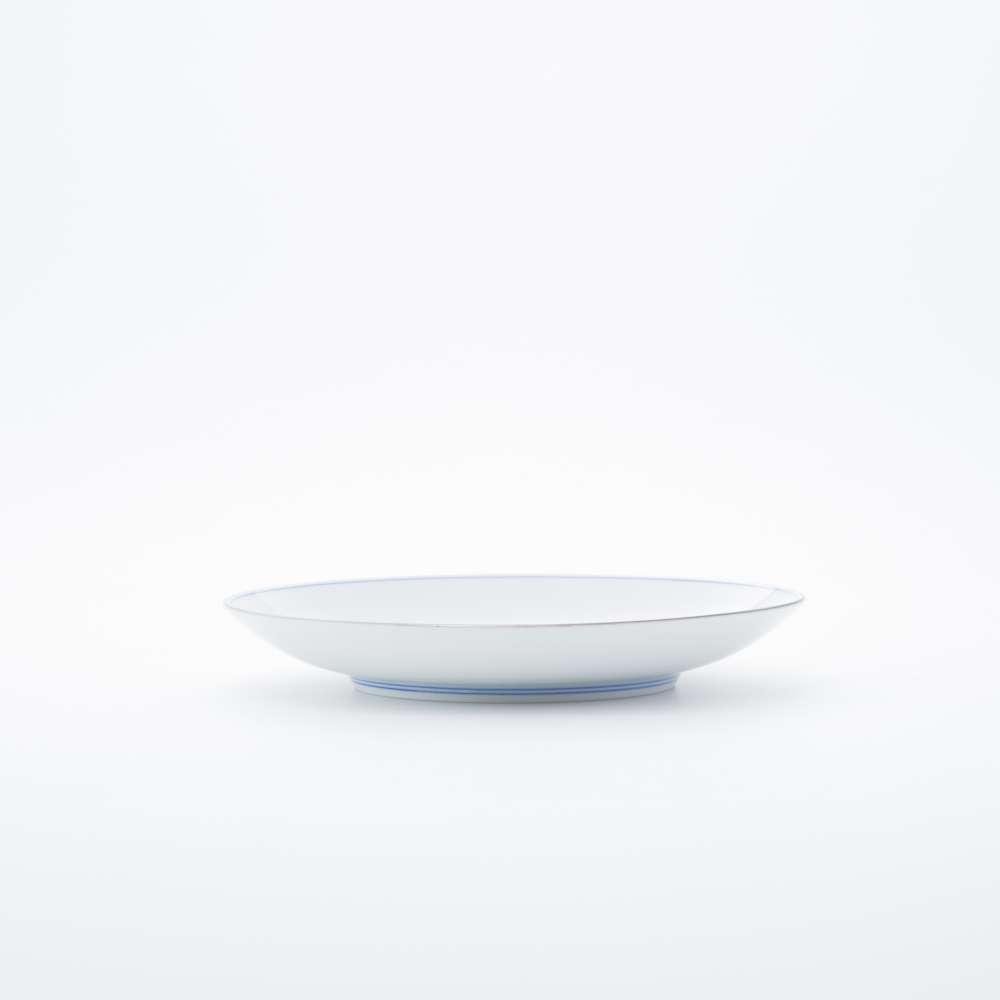 和食器 中皿 新弥左ヱ門 平皿 (小) プラチナ 竜花篭 和モダン ブランド 食器 食器ギフト デザートプレート
