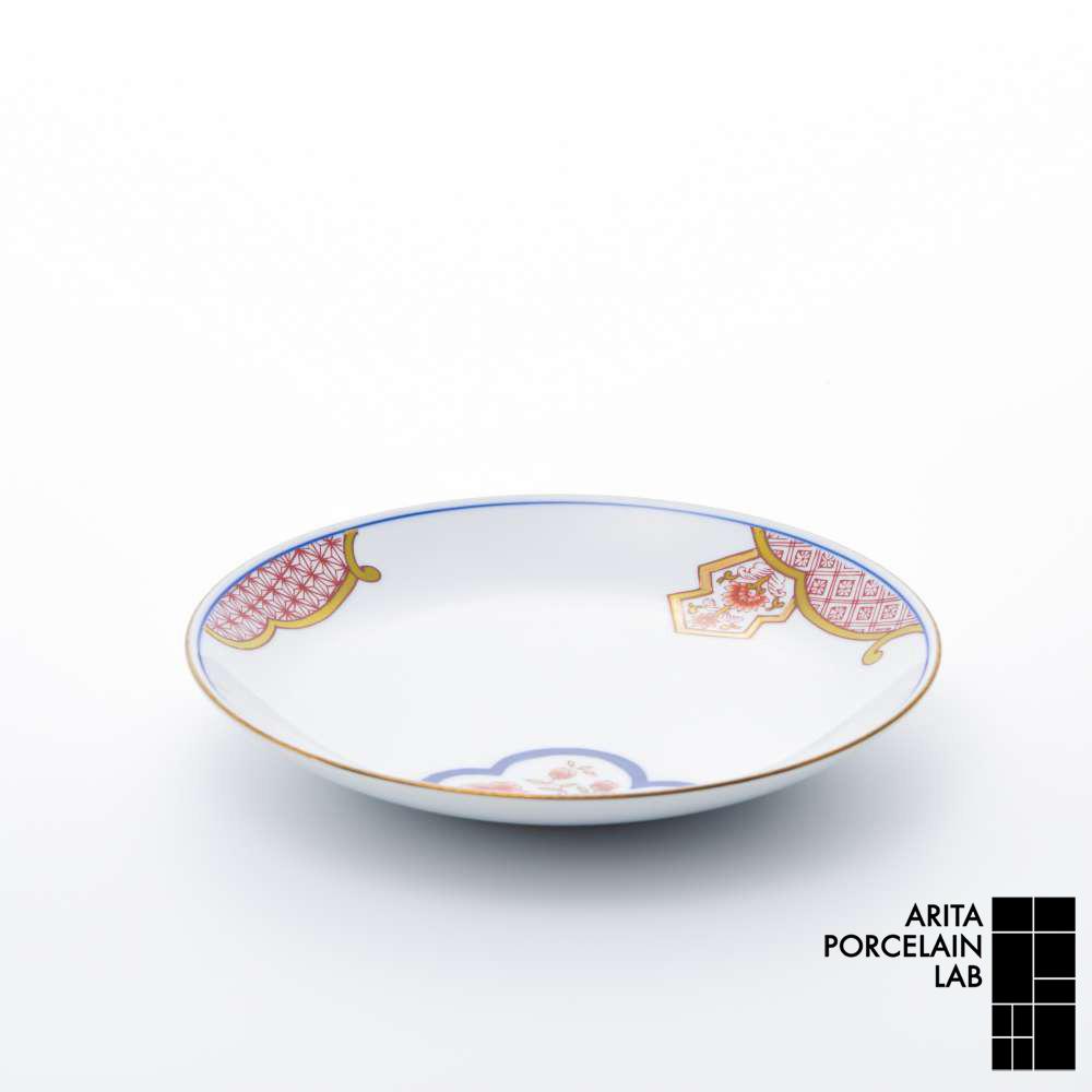 和食器 中皿 新弥左ヱ門 平皿 (小) ゴールド 花ぎり 和モダン ブランド 食器 食器ギフト デザートプレート