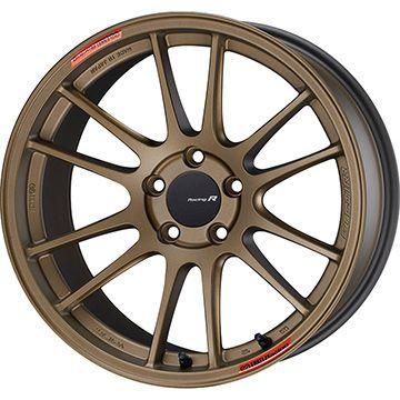 【取付対象】【送料無料】 235/50R18 18インチ ENKEI エンケイ GTC01 RR チタニウムゴールド 8.5J 8.50-18 DUNLOP ダンロップ ルマン V(ファイブ) サマータイヤ ホイール4本セット