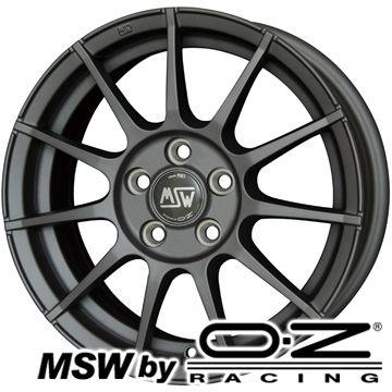 【送料無料】 スタッドレスタイヤ ホイール4本セット 輸入車 YOKOHAMA アイスガード ファイブIG50プラス MSW by OZ Racing MSW MSW 85(H) 6J 6.00-15 185/65R15 15インチ