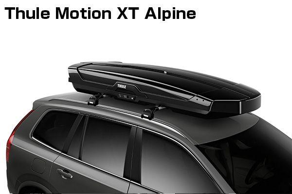 送料無料(一部離島除く) ※個人宅配送不可THULE スーリー Motion XT Alpine(グロスブラック) ルーフボックス
